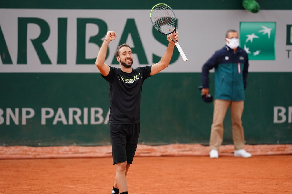 Nikola Milojevic, Roland Garros 2020, qualifying final round