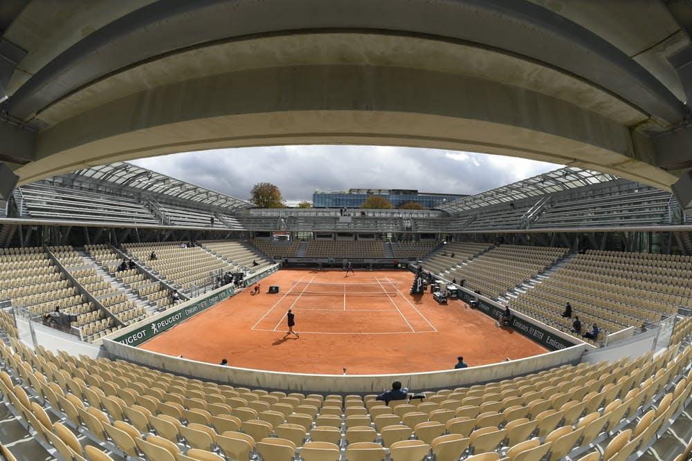 Court Simonne-Mattieu, Roland Garros 2020