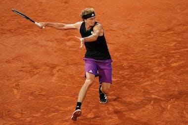 Alexander Zverev, Roland-Garros 2021, third round