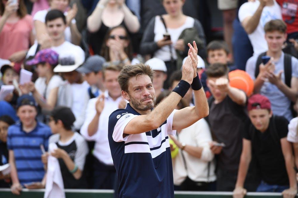 Nicolas Mahut - Roland-Garros 2019 - 2e tour