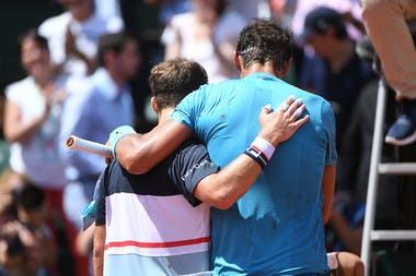 Roland-Garros 2018, 1/4 de finale, Rafael Nadal, Diego Schwartzman