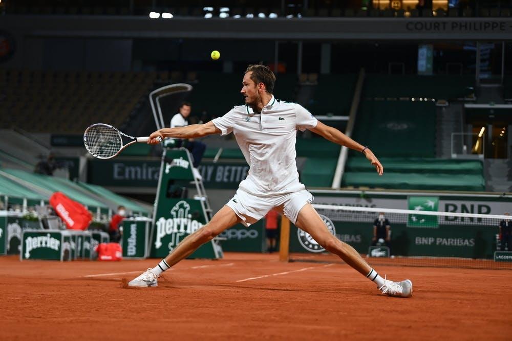 Daniil Medvedev, Roland Garros 2021, quarter-final