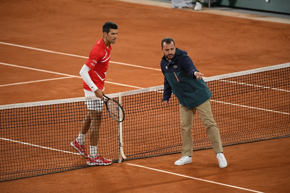 Novak Djokovic, Damien Dumusois Roland-Garros 2020, finale