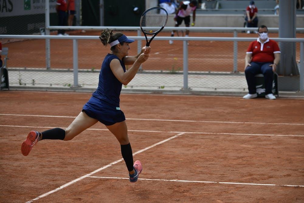 Monica Niculescu, Roland-Garros 2021, first round