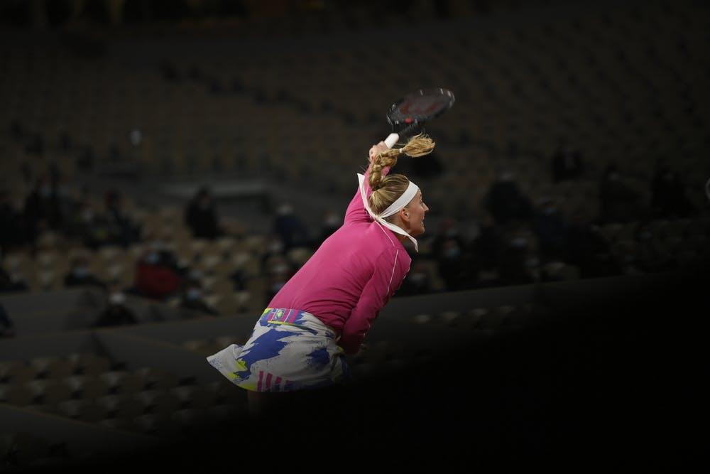 Petra Kvitova, Roland-Garros 2020, 1er tour