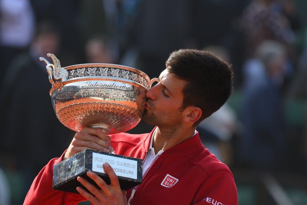 Novak Djokovic Roland-Garros 2016