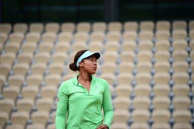 Naomi Osaka, Roland Garros 2021 practice