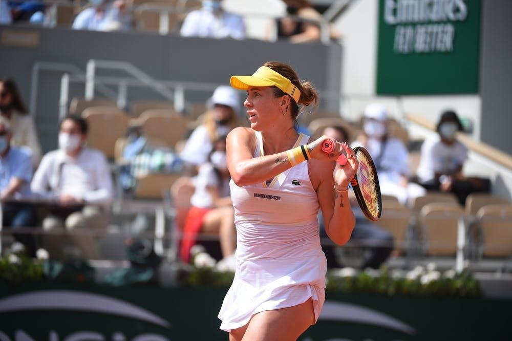 Anastasia Pavlyuchenkova, Roland Garros 2021, final