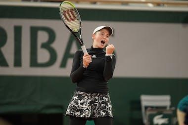 Jelena Ostapenko, Roland Garros 2020, second round