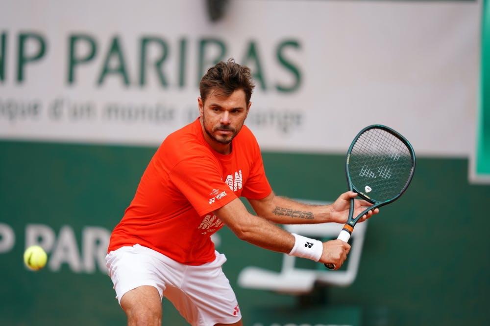 Stan Wawrinka, Roland-Garros 2020, entraînement, jeudi 24 septembre