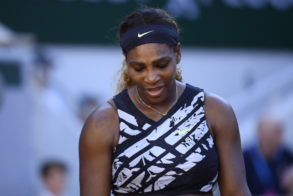 Serena Williams Sofia Kenin Roland Garros 2019 third round