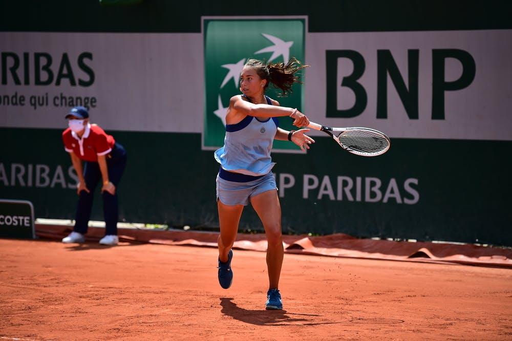 Kristina Dmitruk, Roland-Garros 2021, girls singles first round