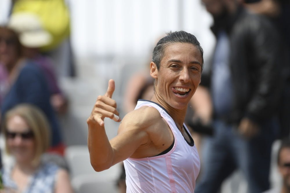 Francesca Schiavone sourire qualifications