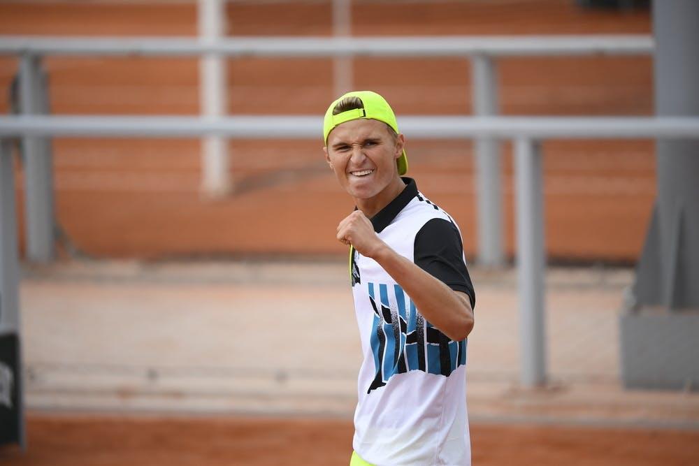 Leandro Riedi, Roland Garros 2020, quarter-finals