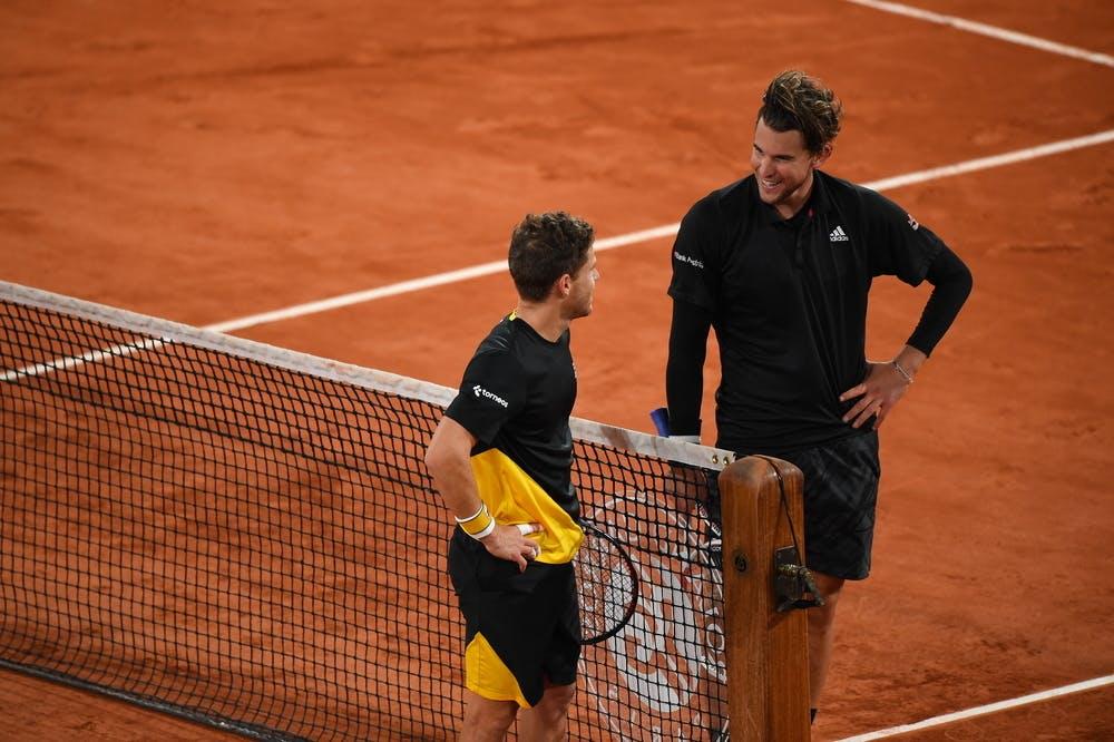 Diego Schwartzman, Dominic Thiem, Roland Garros 2020, quarter-final