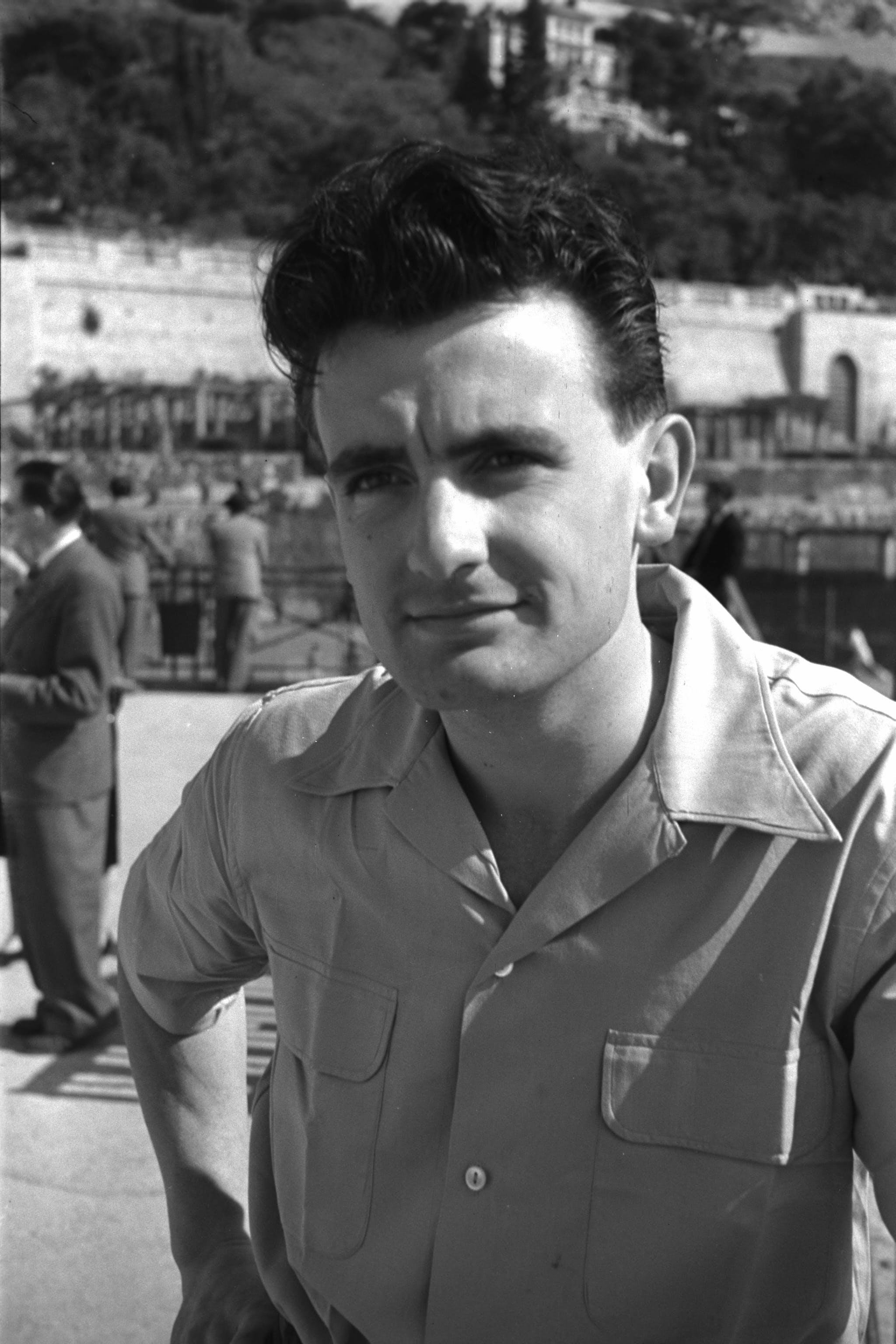 Philippe Chatrier, Monte-Carlo, 1953