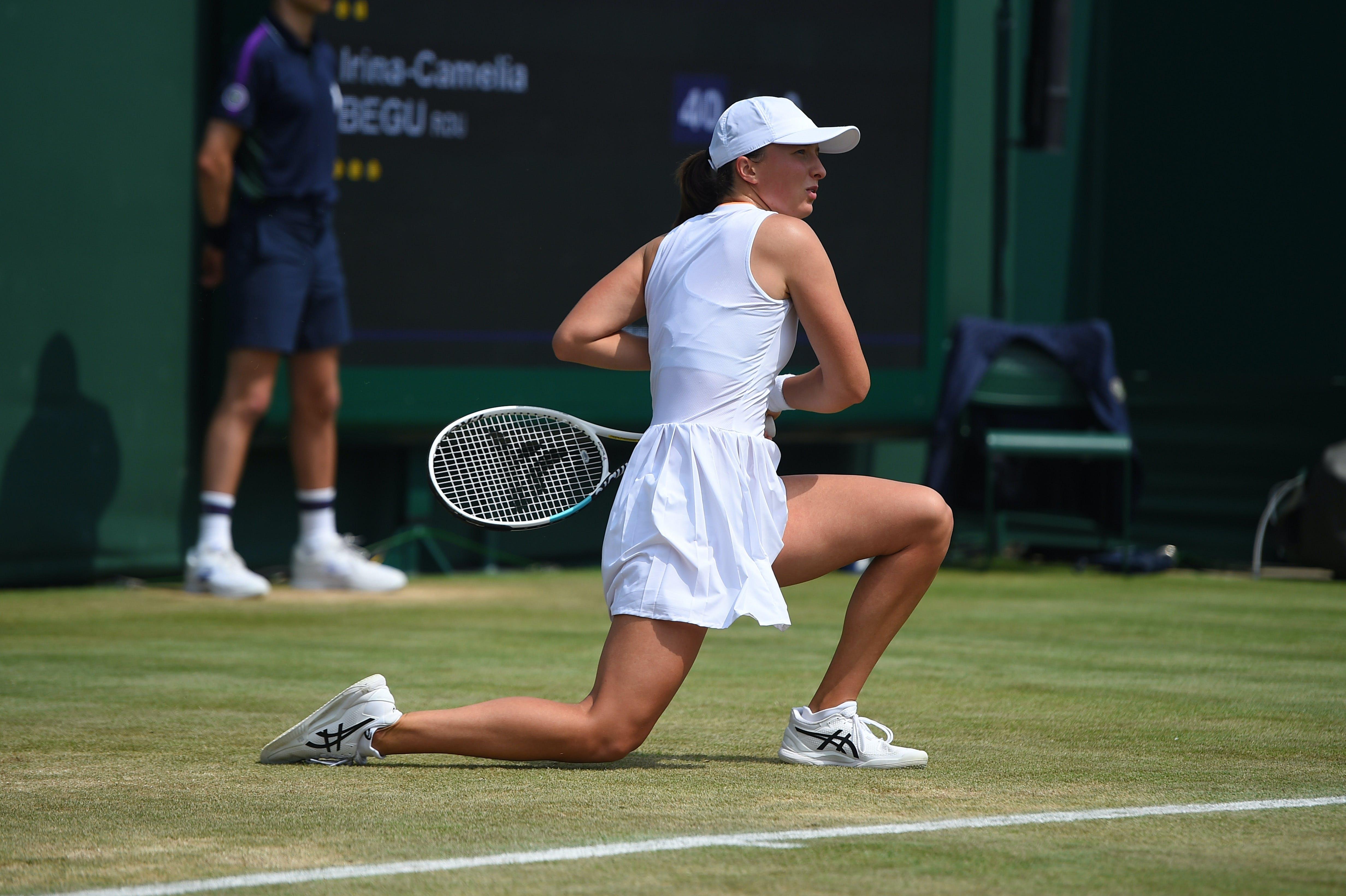 Iga Swiatek Wimbledon 2021