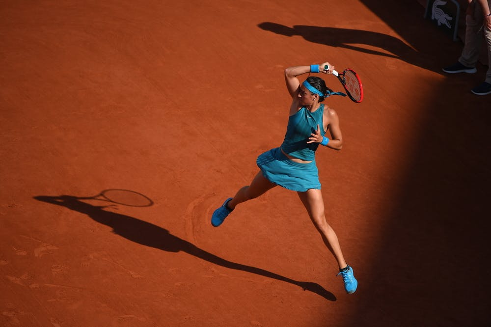Caroline Garcia, Roland Garros 2018, Simple Dames, 3eme Tour