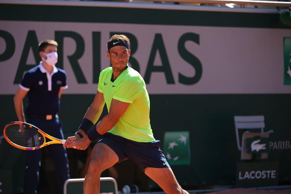 Rafael Nadal, Roland Garros 2021, first round