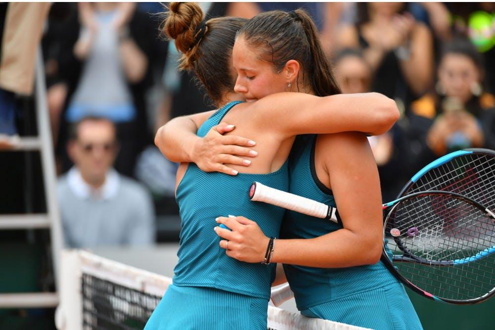 Daria Kasatkina Maria Sakkari Roland-Garros 2018.