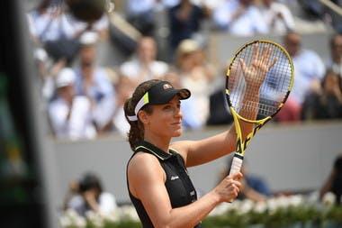 Johanna Konta into semi-finals Roland Garros 2019