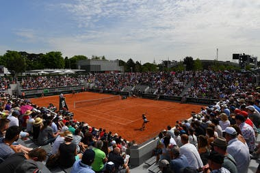 Le court n°18 du stade Roland-Garros