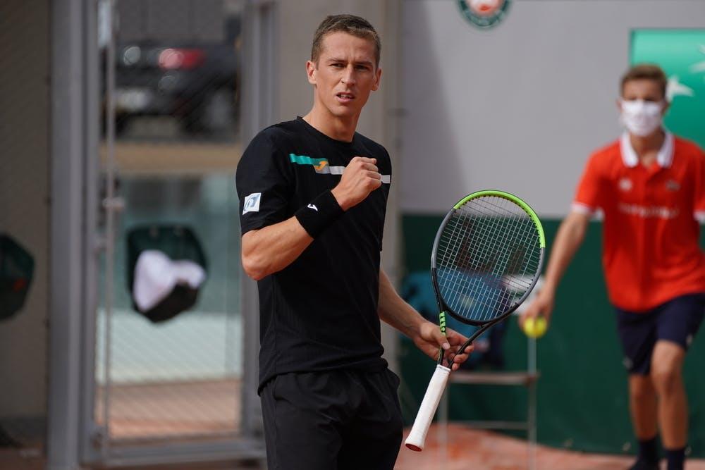 Kimmer Coppejans, Roland-Garros 2020, qualifying second round.