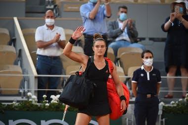 Maria Sakkari, Roland Garros 2021, semi-final