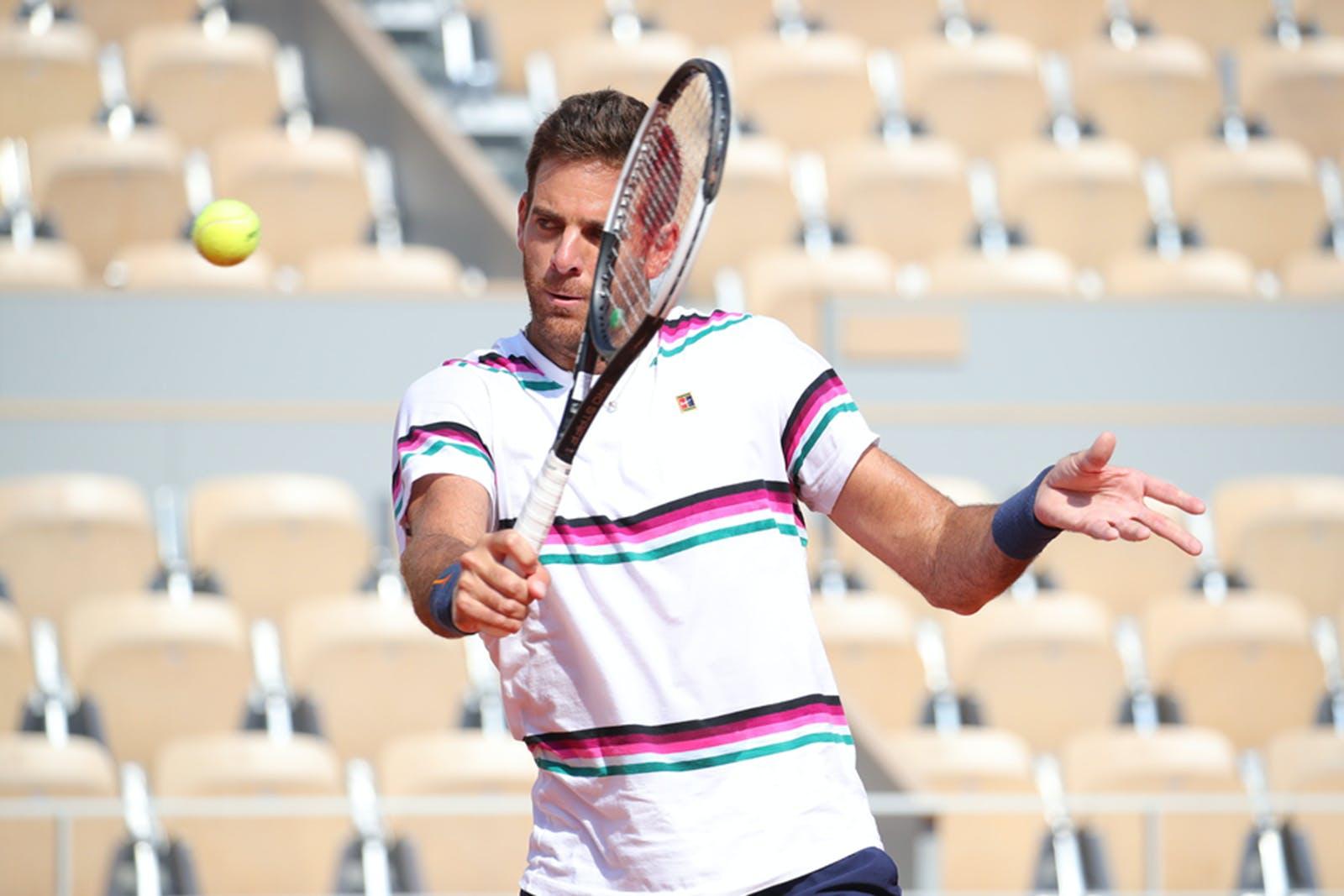 Juan Martin Del Potro - Roland-Garros 2019 - entraînement