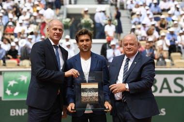 Guy Foret, David Ferrer et Bernard Giudicelli
