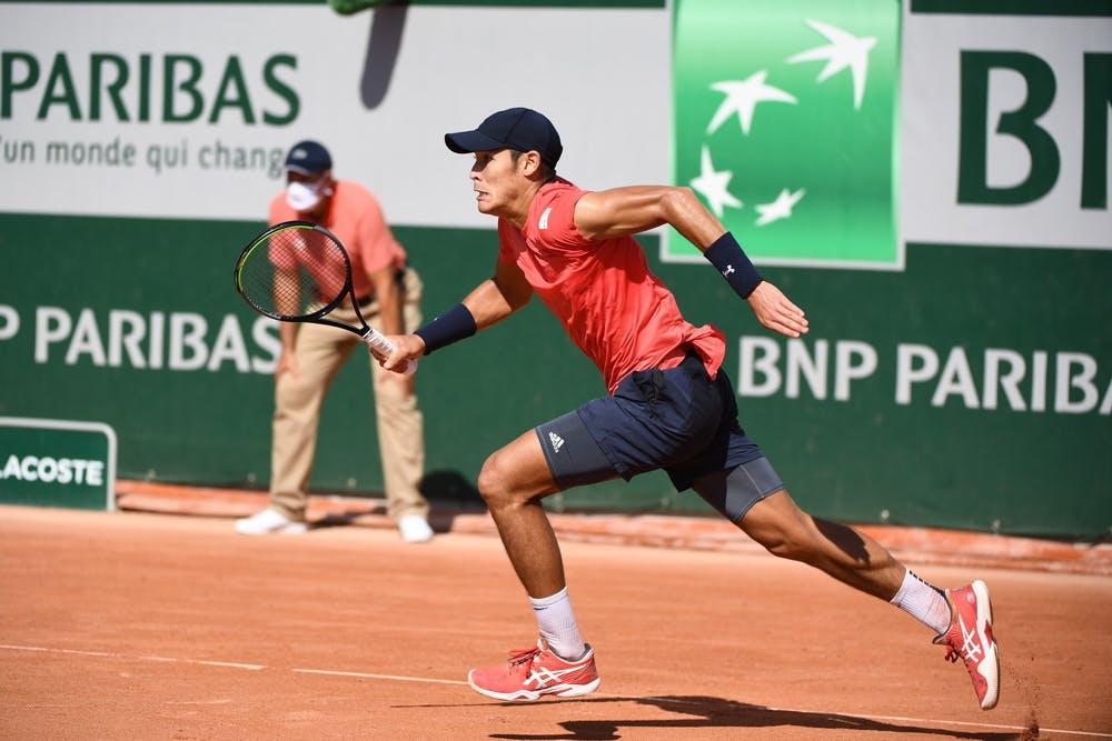 Thai-Son Kwiatkowski, Roland Garros, qualifying first round