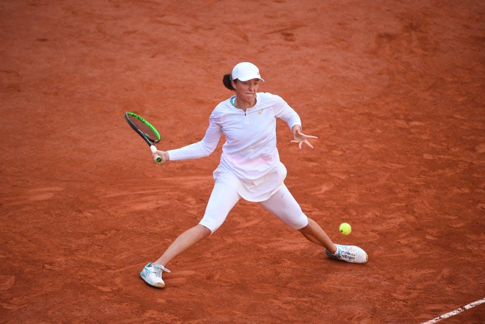 Iga Swiatek, Roland-Garros 2020, finale