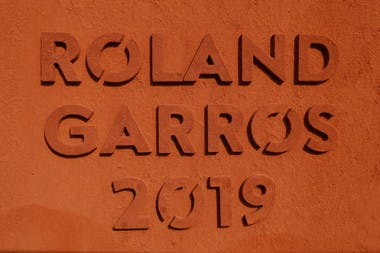 Mur terre battue Roland-Garros