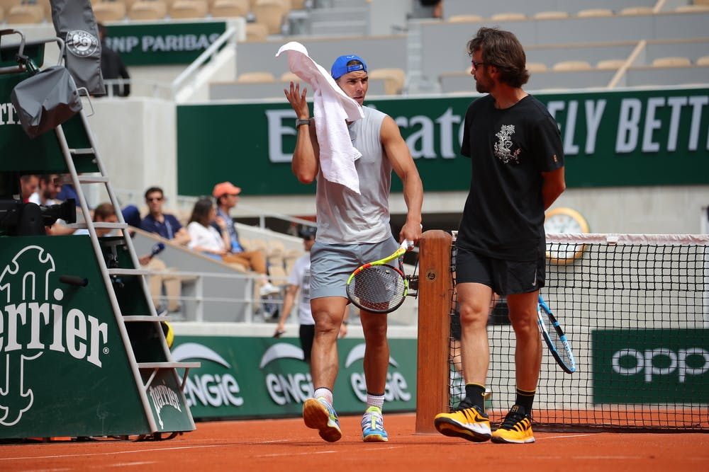 Roland-Garros 2019 - Rafael Nadal - Carlos Moya