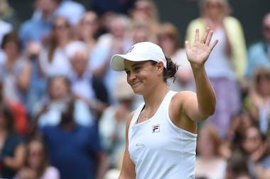 Ashleigh Barty Wimbledon 2021