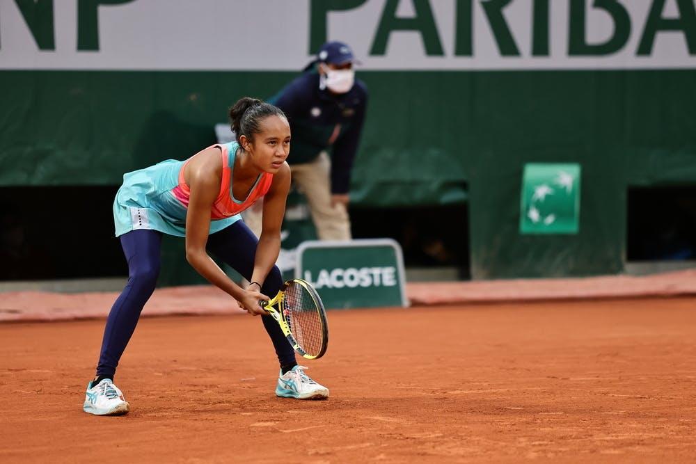 Leylah Fernandez, Roland Garros 2020, third round