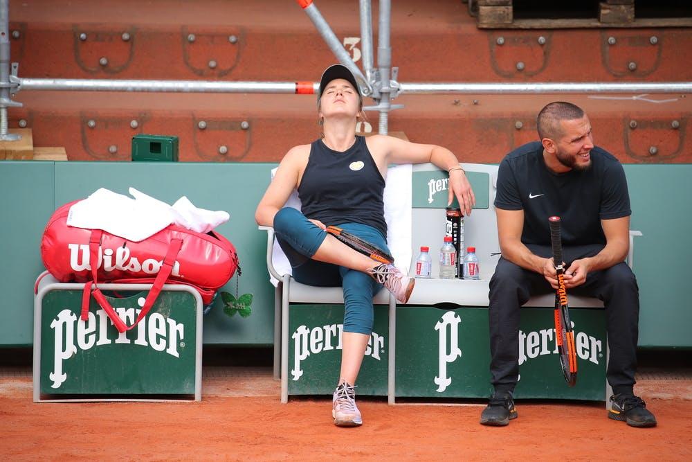 Elina Svitolina Roland Garros 2019 practice
