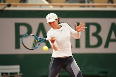 Garbiñe Muguruza, Roland-Garros 2020, entraînement, jeudi 24 septembre