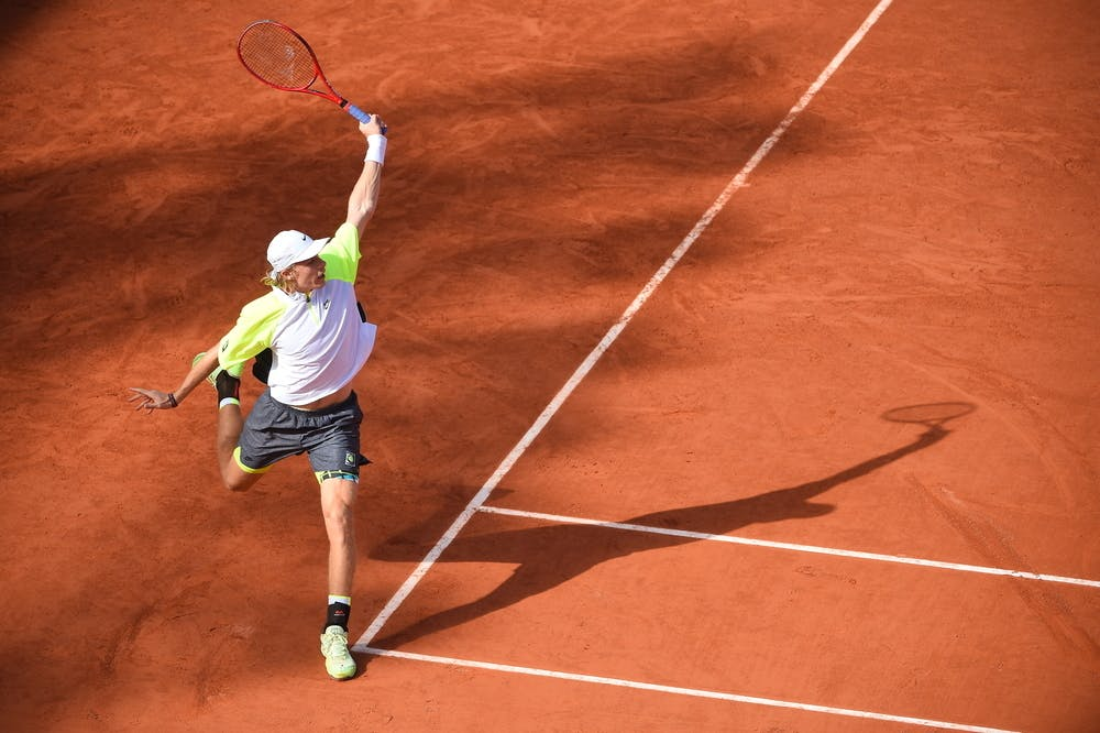 Denis Shapovalov, Roland-Garros 2020, 2e tour
