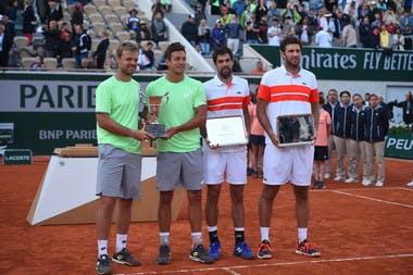 Krawietz/Mies et Chardy/Martin Roland-Garros 2019