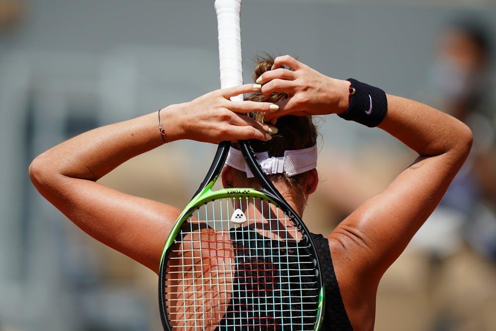 Marketa Vondrousova, Roland-Garros 2021, second round