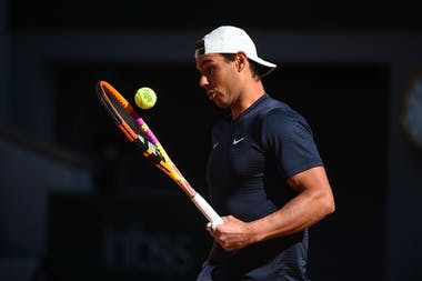 Rafael Nadal, Roland Garros 2021, practice