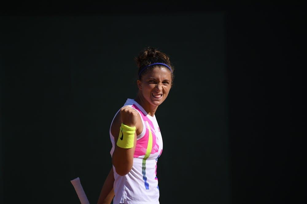 Sara Errani, Roland Garros 2020, qualifying first round