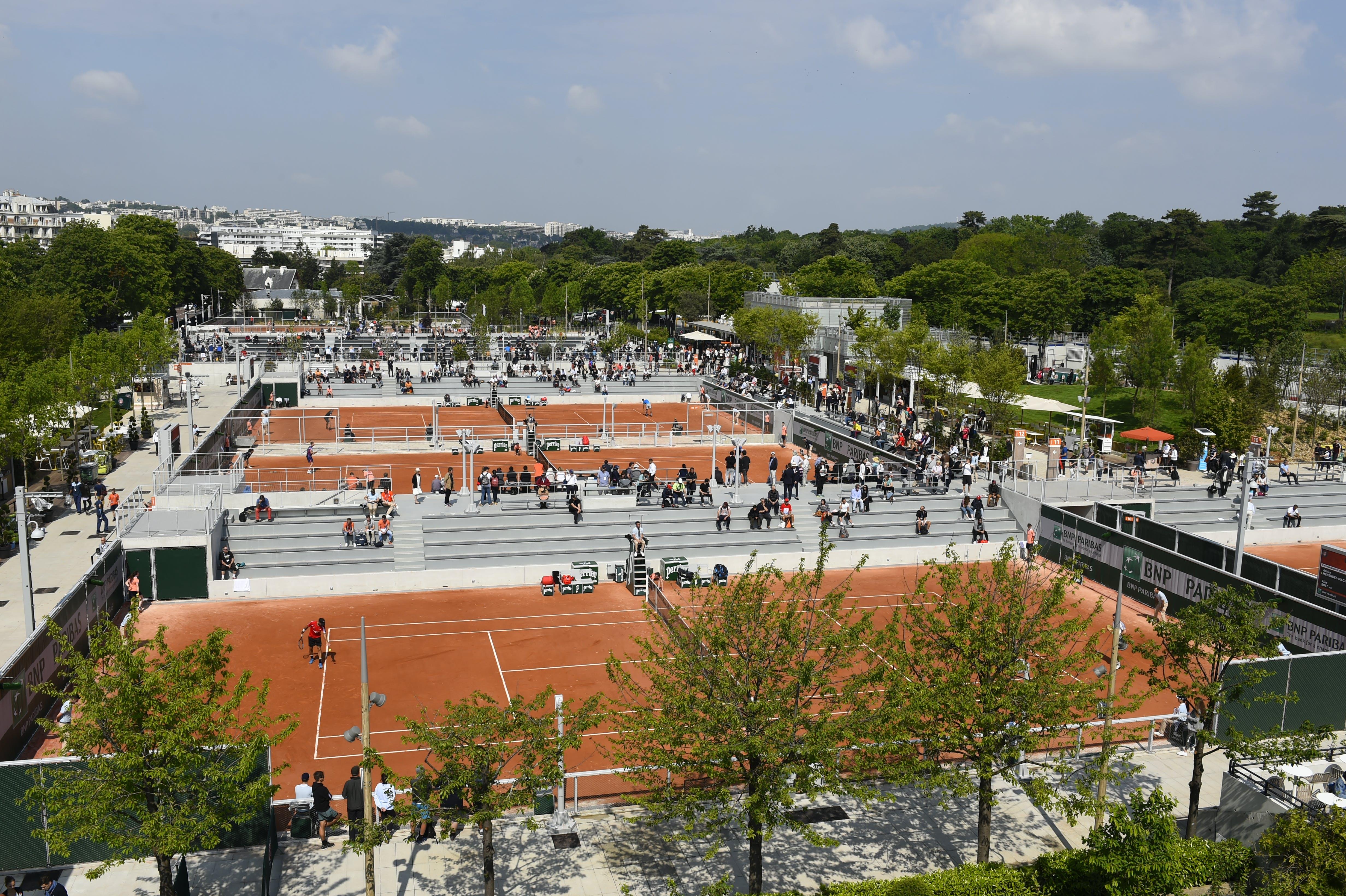 Qualifications Roland-Garros 2019 Fonds des Princes