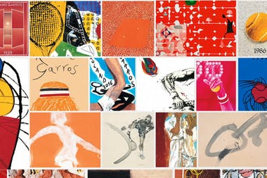 40 years of Roland-Garros posters