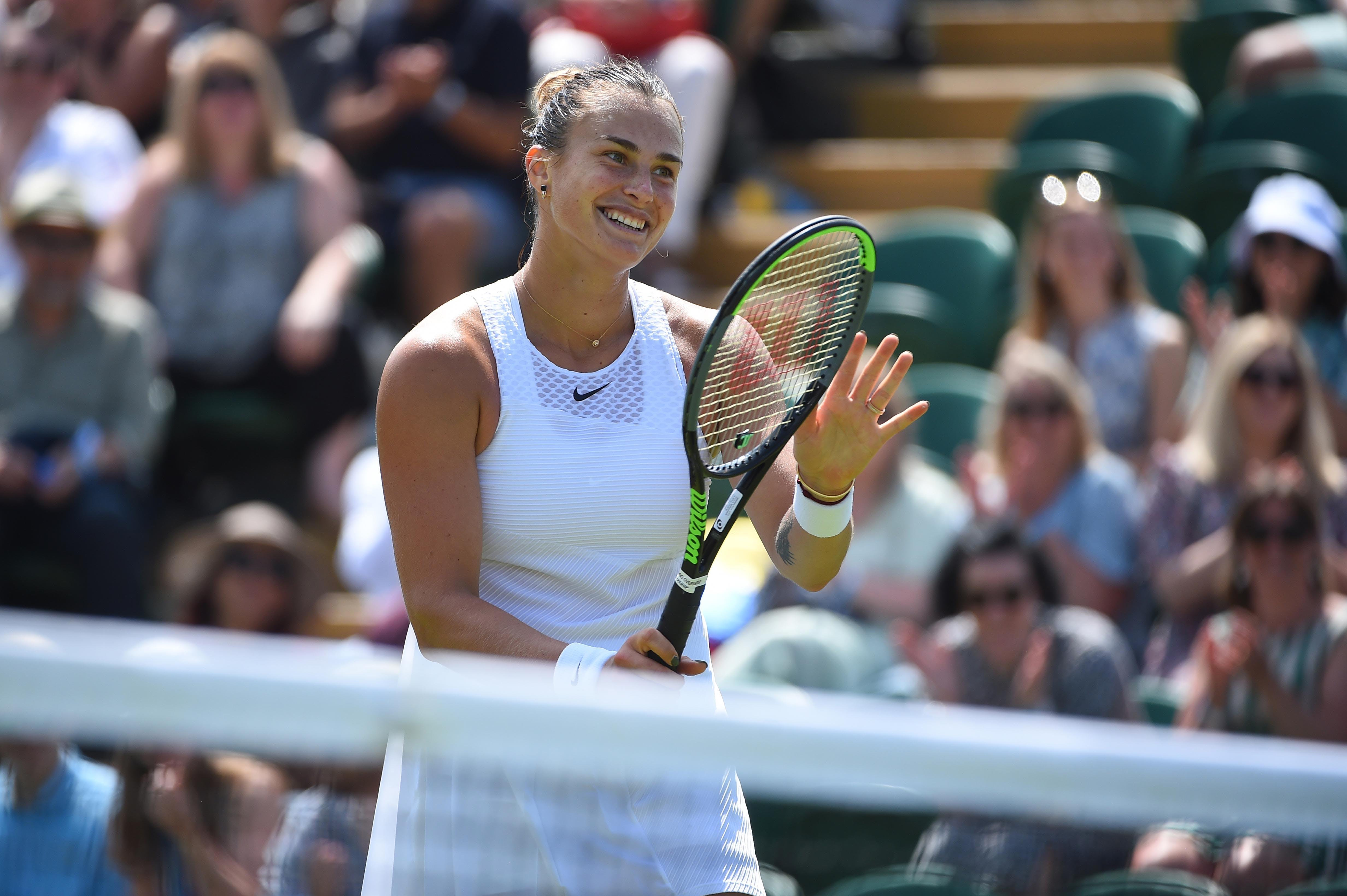 Aryna Sabalenka Wimbledon 2021