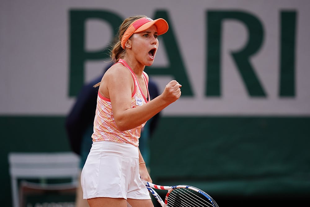 Sofia Kenin, Roland-Garros 2020, demi-finales