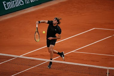 Stefanos Tsitsipas, Roland Garros 2020, quarter-final