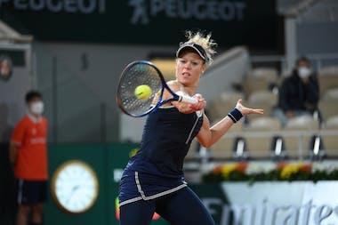 Laura Siegemund, Roland-Garros 2020, 1er tour