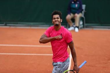 Michael Mmoh, Roland Garros 2020, qualifying final round